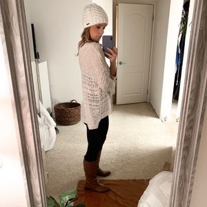 Express oversized loose-knit sweater
